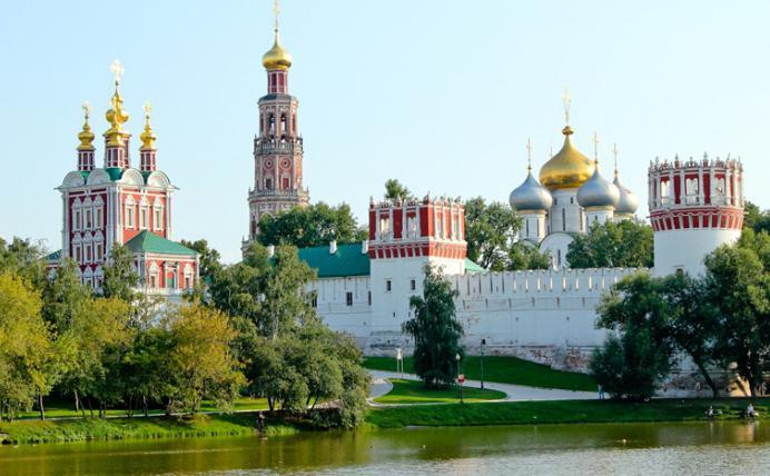 новодевичий монастырь в москве где находится