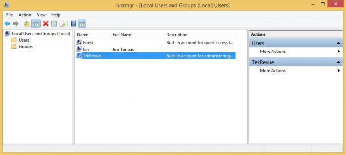 сменить имя пользователя windows 7