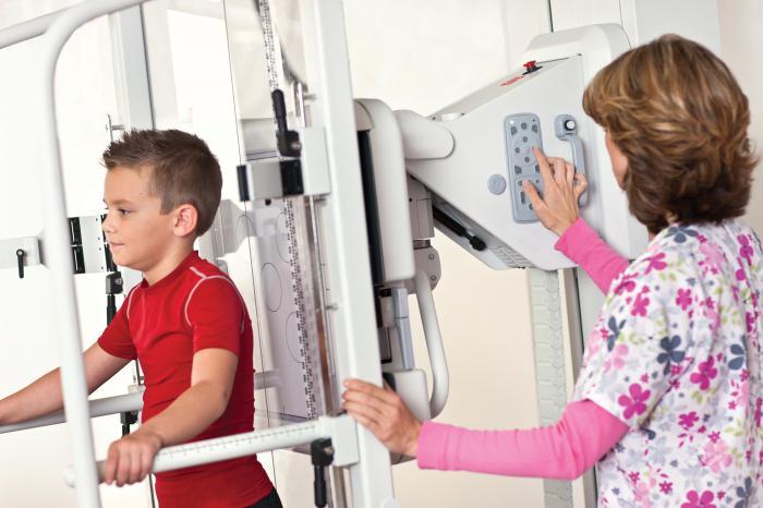 как делают флюорографию детям