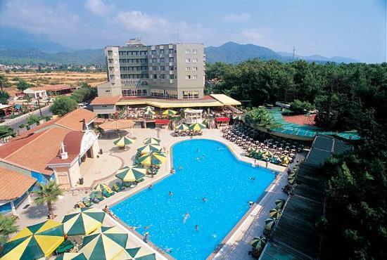 Практически все гостиницы курорта