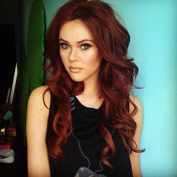 краски для рыжих волос