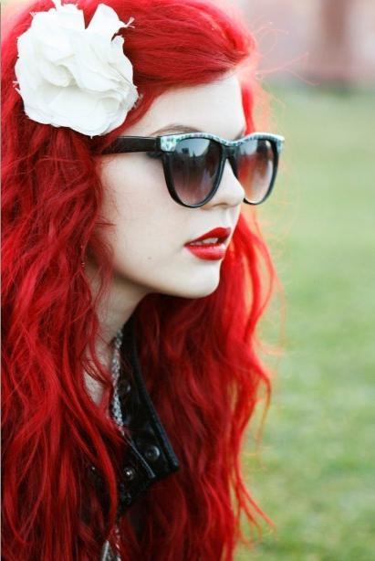 краска для волос рыжие оттенки палитра