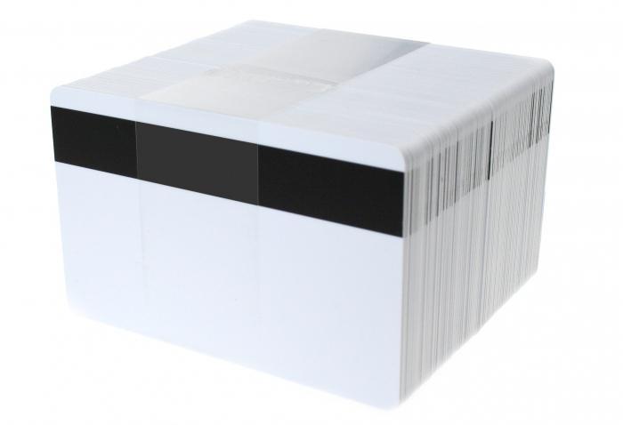 Стандартный размер пластиковой карты