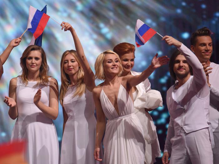 Кто из россии ездил на евровидение