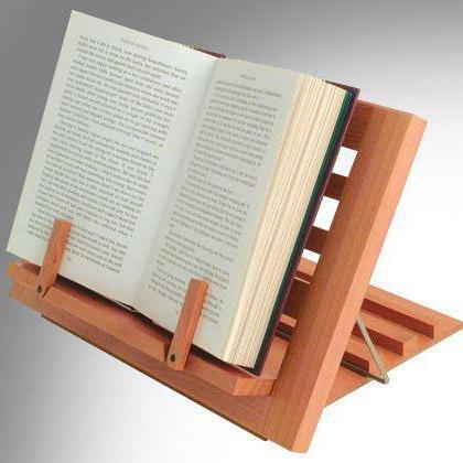Рисунок книги на подставке