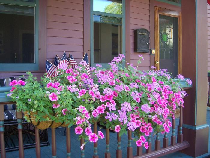 балконные ящики для цветов с креплением