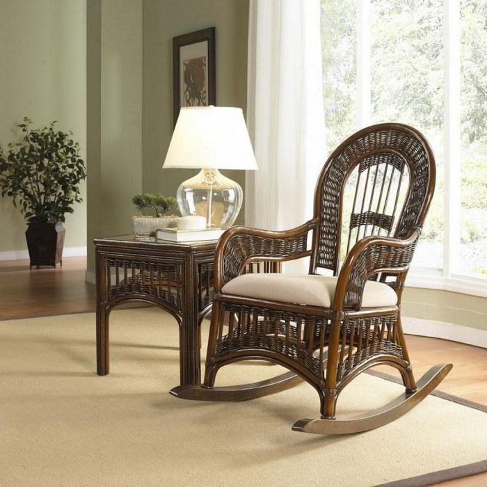 кресло плетеное фото