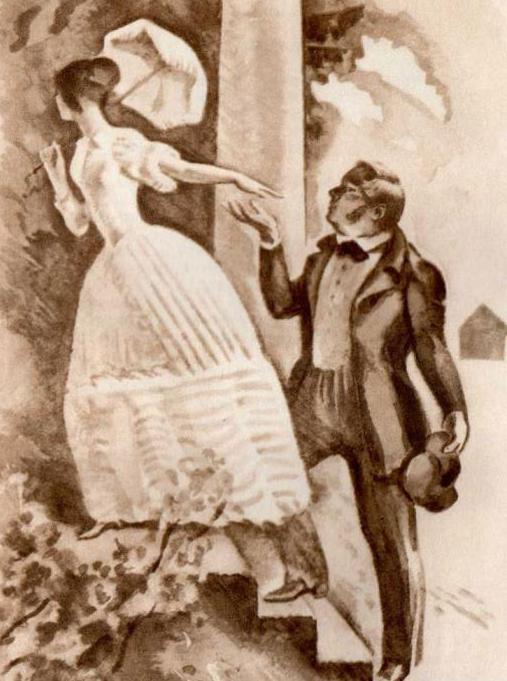 Первое Знакомство Штольца И Ольги