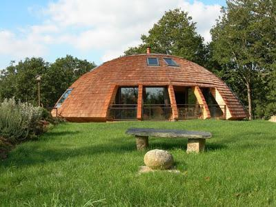 купольный дом из пенополистирола