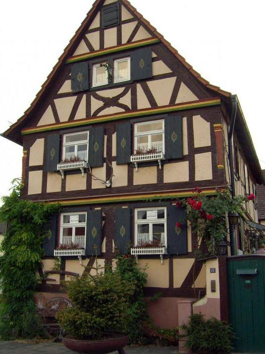 добротный немецкий дом