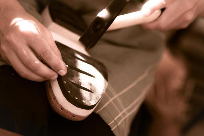 своими руками ремонт обуви