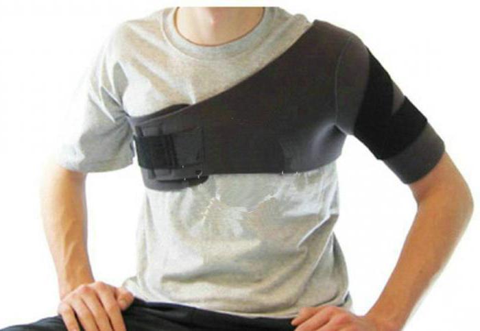 бандаж плечевой косынка