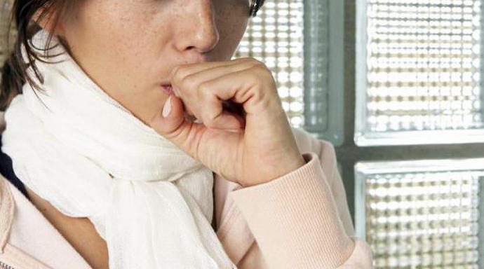 хронический сухой кашель