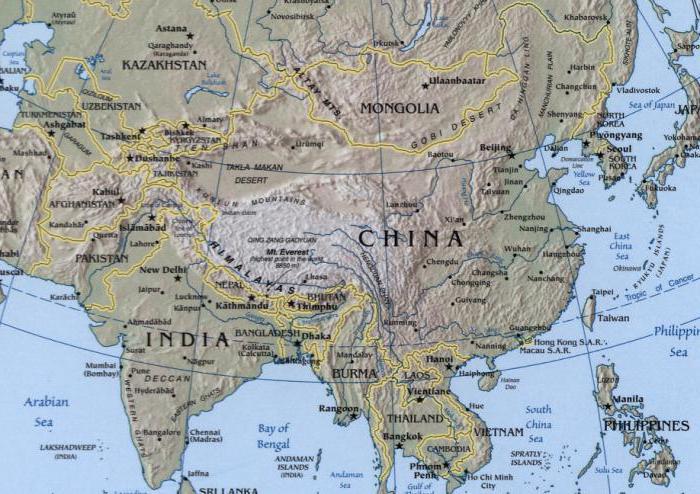 Население Индии и Китая