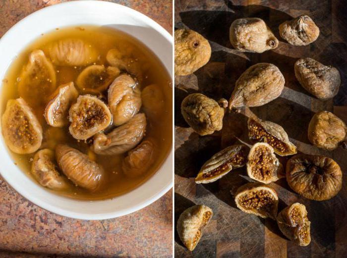 Инжир сушеный: польза и вред, калорийность