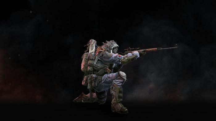 варфейс снайперские винтовки