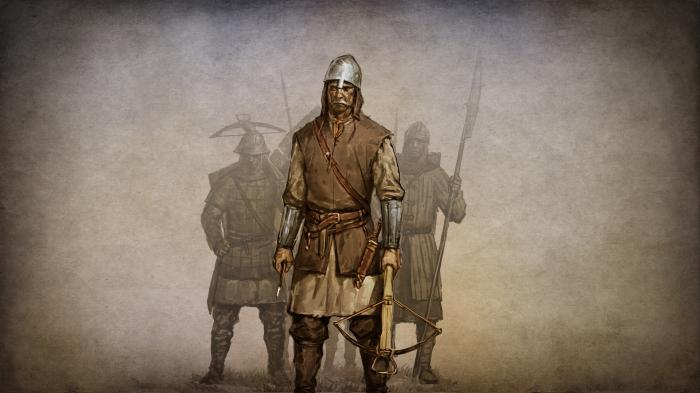 построение замка mount and blade warband