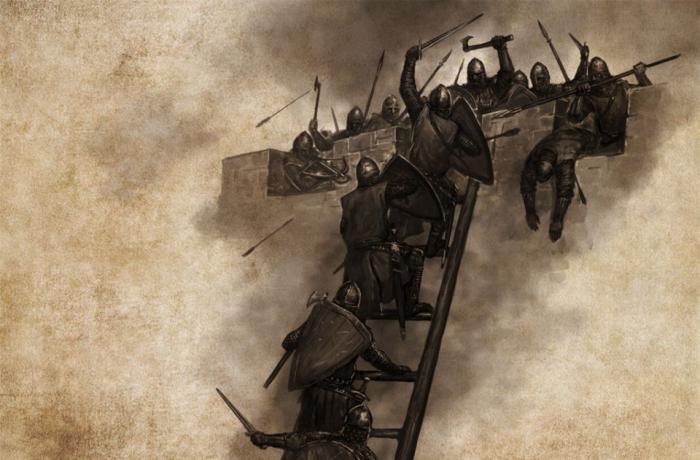 построить замок в mount and blade warband