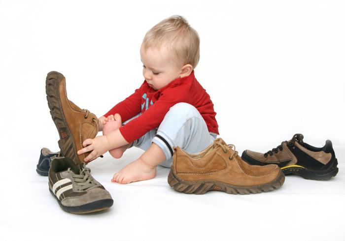 размер детской обуви сша
