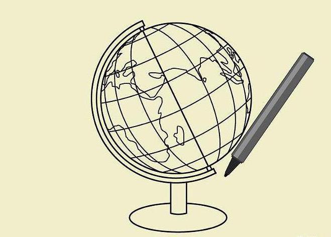 картинки как рисовать глобус картинки тегом