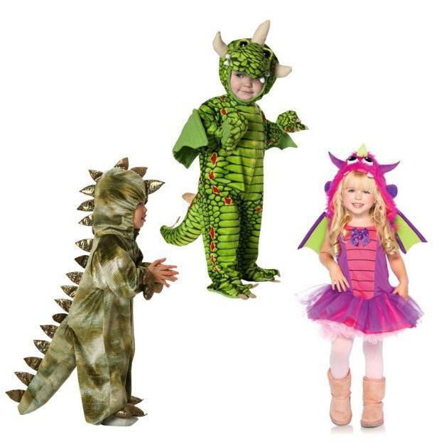 костюм дракона