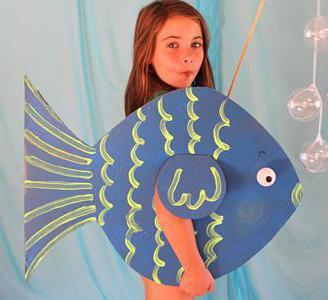 сделать костюм рыбки