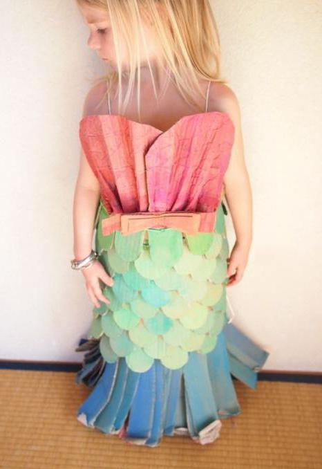детский костюм рыбки