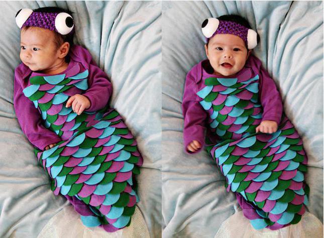 новогодний костюм рыбки
