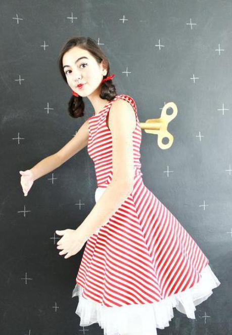 костюм куклы выкройка
