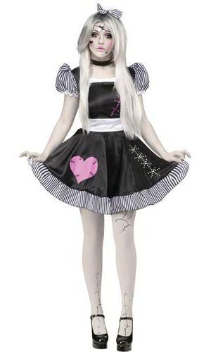 Костюм на хэллоуин своими руками куклы