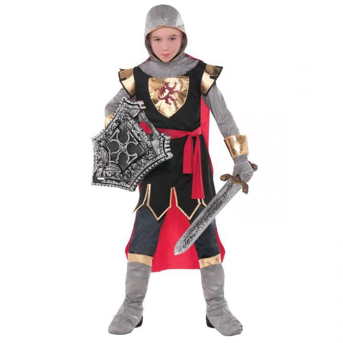 Костюм рыцаря сделать своими руками