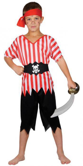 новогодний костюм разбойника