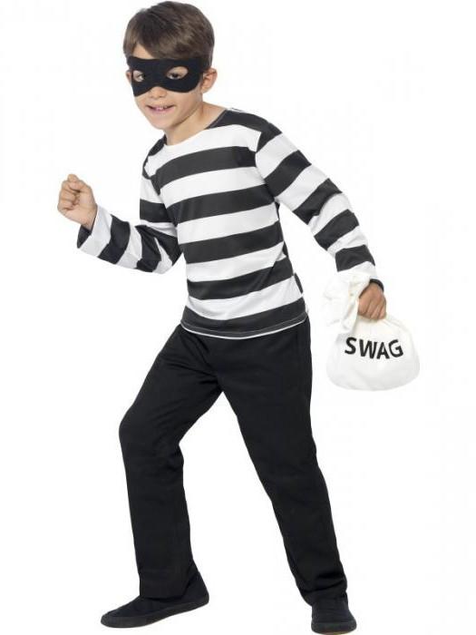 Как сделать новогодний костюм разбойника своими руками для мальчика