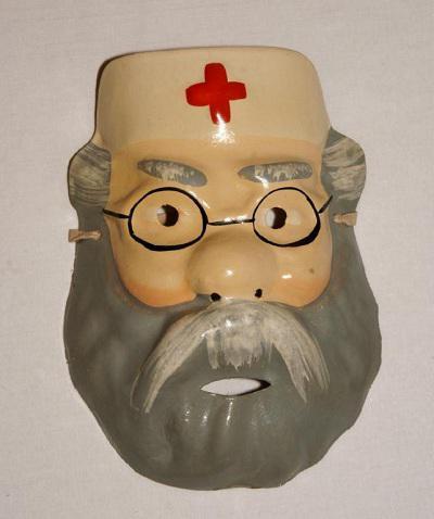 Как сделать маску по сказки доктор айболит 4 фотография