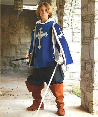 костюм мушкетера для мальчика своими руками