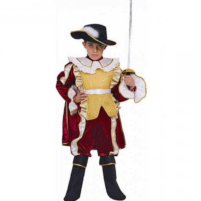 костюм мушкетера для мальчика своими руками выкройка
