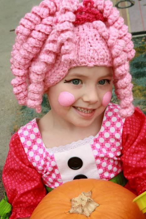 карнавальный костюм кукла для девочки