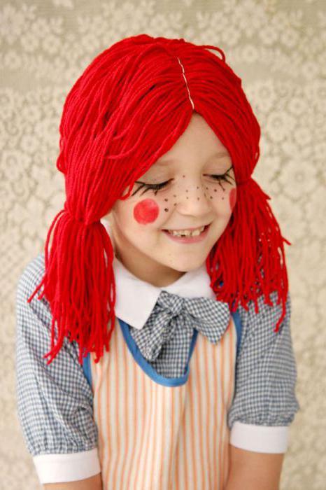 костюм куклы для девочки своими руками