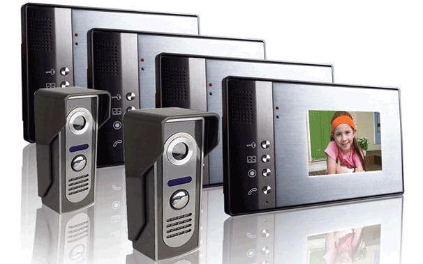 подключение видеодомофона контроллером