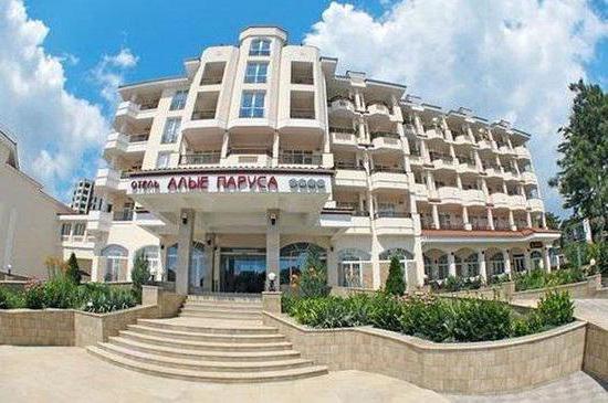 отель алые паруса феодосия