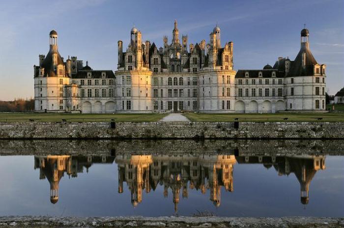 названия замков франции