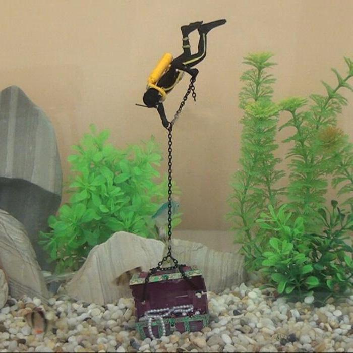 изготовление декора для аквариума своими руками