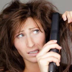спрей термозащита укладки волос