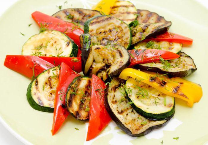 Овощи к рыбе на гарнир приготовить