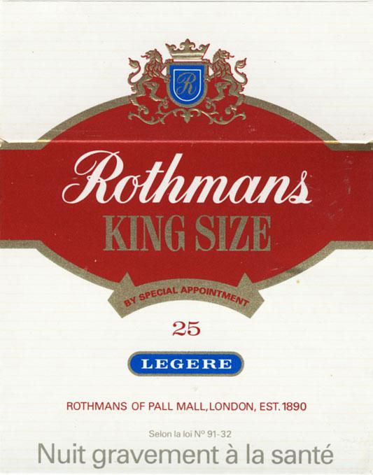 Rothmans сигареты из англии купить табак шпаковского оптом