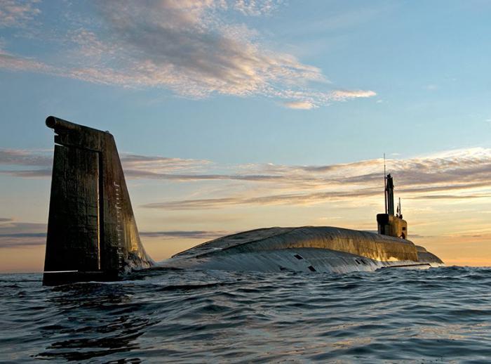 вмф россии подводный флот