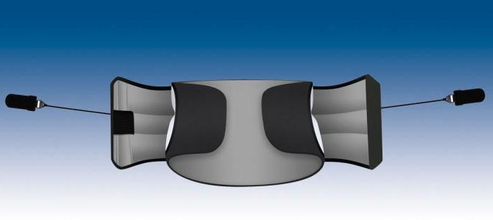 Ортопедический пояснично-крестцовый корсет полужесткий