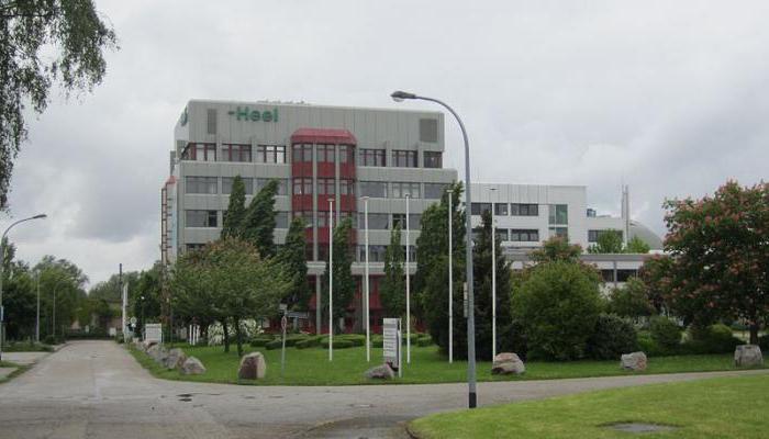 гомеопатические препараты немецкой кампании heel