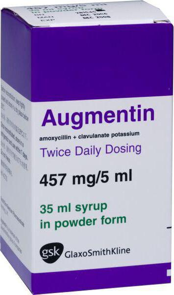 Аугментин при бронхите у беременных 97