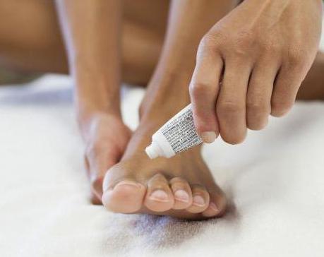 мазь против запаха пота ног